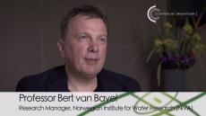 Professor Bert van Bavel Explains Measurement of Water Pollutants