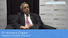 AACR President on his Inspiration, his Legacy and Cancer Health Disparities