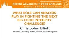 What Role Can Analysis Play In Fighting The Next Big Food Integrity Challenge?